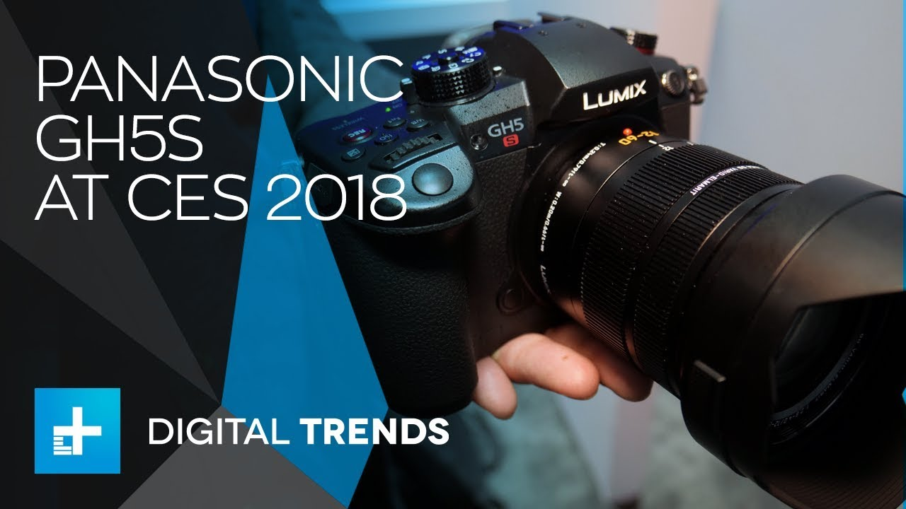 Panasonic GH5S – Hands On at CES 2018