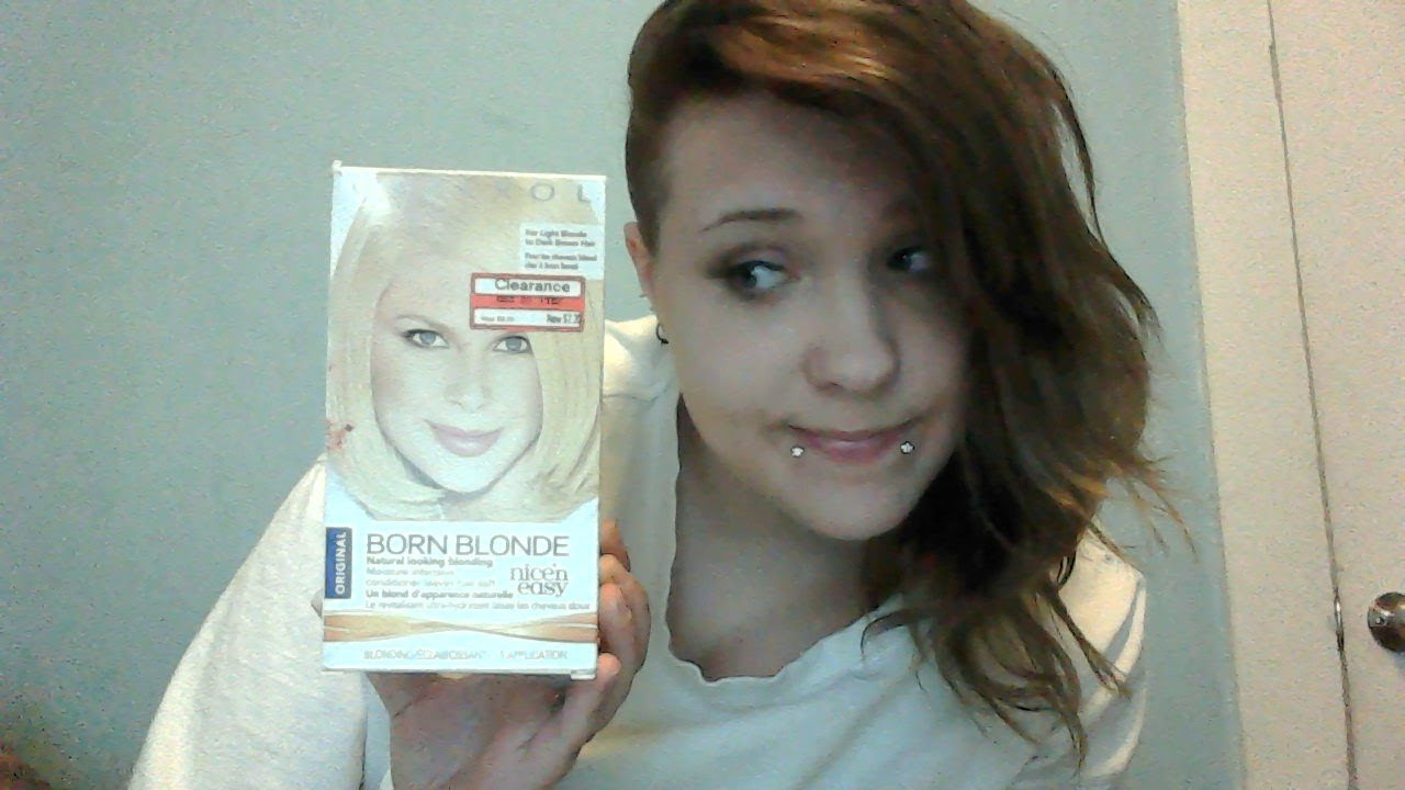 Review Clairol Born Blonde By Nice'n Easy Youtube
