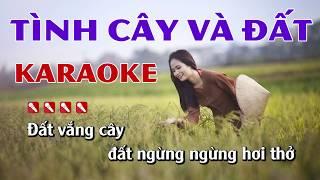 Tình Cây Và Đất Karaoke Nhạc Sống Minh Công - Beat Nam Dễ Hát Nhất