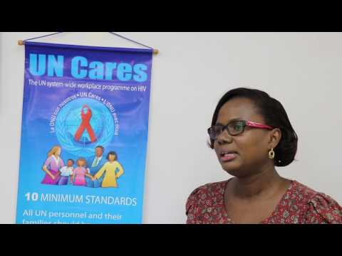 Reflections on UN Cares Training - Colette Hytmiah-Singh, UN Communication Analyst, Guyana