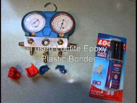 Harbor Freight AC Gauges Manifold Handle Repairs