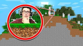 WHATS AT THE EDGE OF THE MINECRAFT WORLD