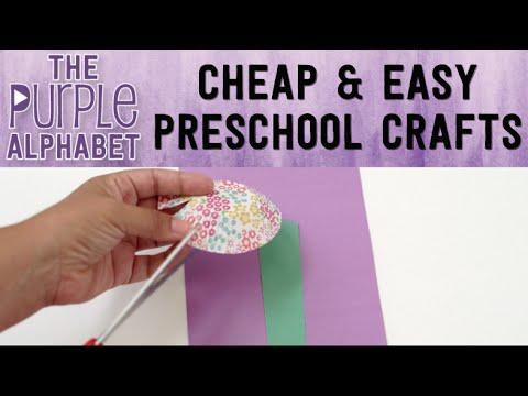 Preschool CRAFTS w/ Cupcake Liners