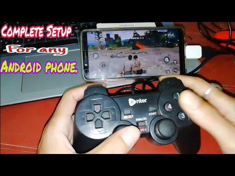 Complete PubG Set Up For Any Android With PC Gamepad. For PubG , Fortnite Or Any Android Games.