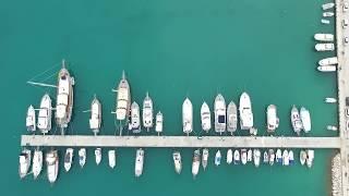 DJI PHANTOM 3 Sıçan adası ve küçük çaltıcak Antalya