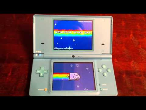 Nyan Cat For Nintendo DS!