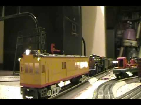 Hometown Carpet Railroad -- Passenger Operations - YouTube