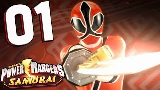 Power Rangers Samurai: Part 1 GO GO SAMURAI (Co-Op) Nintendo Wii Walkthrough