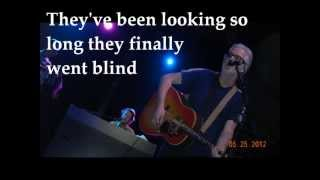BLUE RODEO The Ballad of the Dime Store Greaser and the Blonde Mona Lisa (with lyrics on screen)