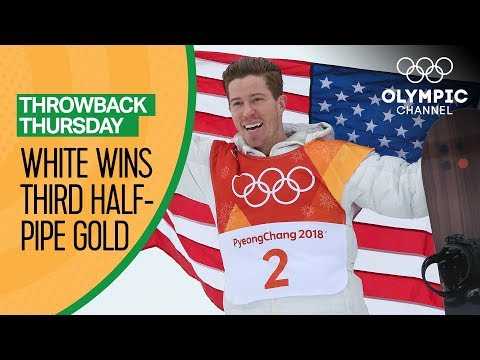 Shaun White's Full Gold Medal Snowboard Halfpipe competition ...