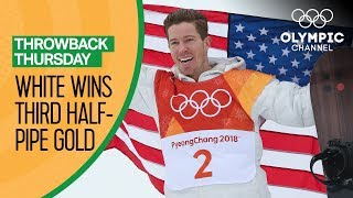 Shaun White's Full Gold Medal Snowboard Halfpipe competition @ PyeongChang 2018 | Throwback Thursday