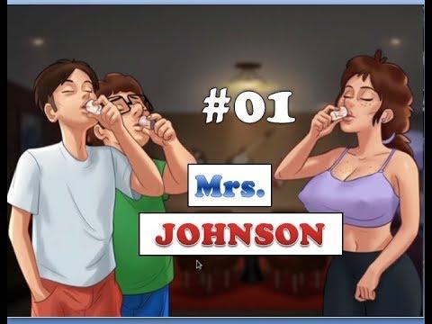 Summertime Saga Mrs. Johnson Quest   0.14.5   Yoga Class   Erik's Toy   Mom talks