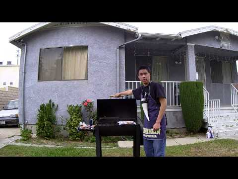 Smart Television Los Angeles Video 4a: How to cook a Pizza in a grill
