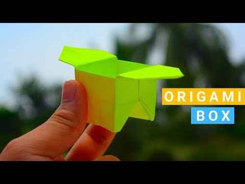 How to Make an Origami Box - Origami Paper Craft Life Hacks