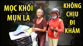 Bà cụ sống trong căn nhà ngập rác mắc bệnh lạ, không chịu vào viện khám bệnh | QUỐC CHIẾN Channel