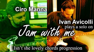 "Ivan Avicolli plays a Solo on ""Jam With Me"" (by Ciro Manna) Isn't She Lovely chords progression"