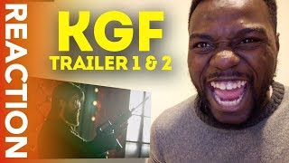 REACTION: KGF Trailer 1 & 2 - BAHUBALI meets SCARFACE!
