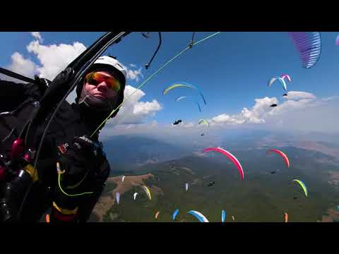 Fly with the pilots of the 2019 FAI World Paragliding Championship