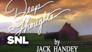 Deep Thoughts: Job Interviews - Saturday Night Live