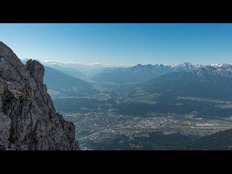 Klettersteig Innsbruck Nordkette : Innsbrucker nordkette klettersteig youtube