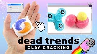 VIRAL TRENDS Clay Cracking! Nostalgic DIYs & ASMR Compilation