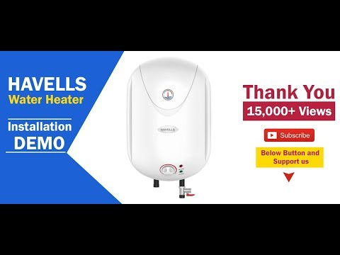 598e5b809aae42 Havells Puro 15 ltr Electric Storage Water Heater 5 Star rating installation