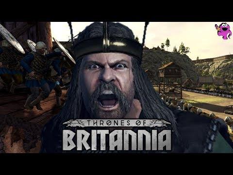 EPIC THRONES OF BRITANNIA SIEGE - Total War Saga Gameplay