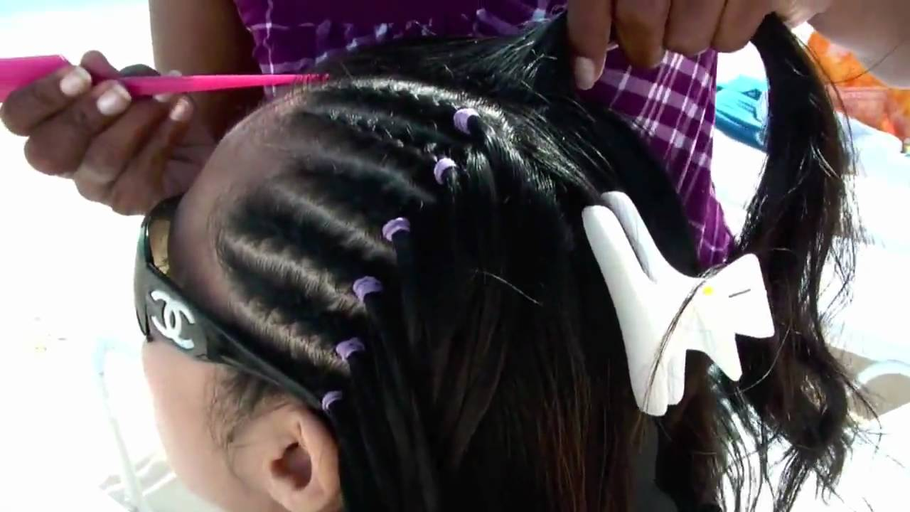Hair Braiding Cancun Mexico Youtube