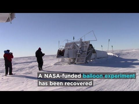 NASA-funded Balloon Recovered From Antarctica