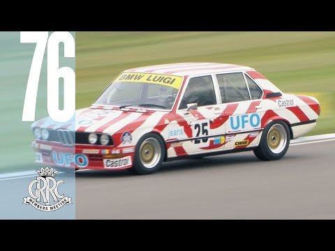 Slippery UFO BMW 530i's epic Goodwood Slides