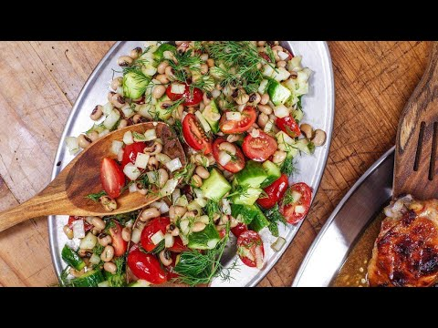 Carla Hall's Black-Eyed Pea Salad With Hot Sauce Vinaigrette