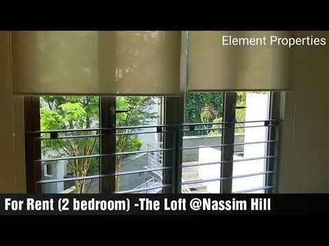 For Rent 2 bedrooms: The Loft @ Nassim Hill (Singapore)