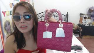 The Christian Dior Lady Dior Bag #GiFT OF MY BESTFRIEND Plus SHOUTOUT friends CHANNEL