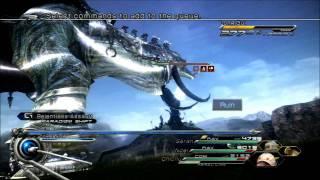 Final Fantasy XIII-2 Post-Game Boss Fight 04 VS Long Gui