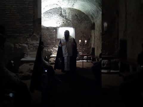 Metropolitan Gregory of Boston. Sermon in the catacomb of Priscilla, Rome. Pilgrimage to Italy, 2018