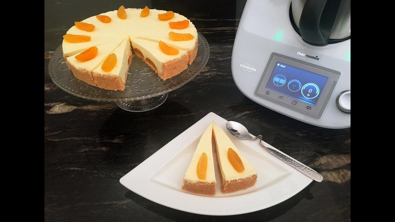 Thermomix kuchen ohne backen mit joghurt und aprikosen - Youtube kuchen ...