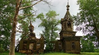 Заброшенная деревня Андреевцы, Селтинский район, Удмуртия vlog путешественника #23