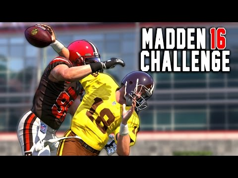 CRAZY BLOWOUT! - Peyton Manning The RB #7 - Madden 16 NFL Career Challenge