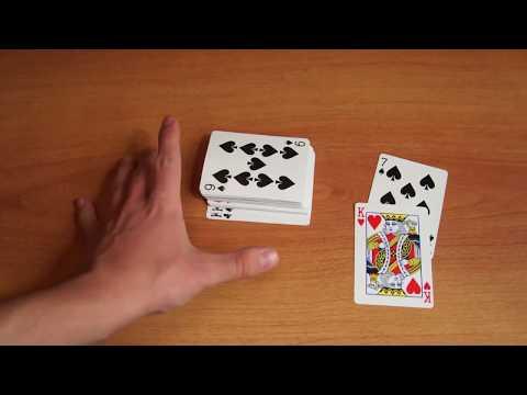 Бесплатное обучение фокусам #48: Самые лучшие карточные фокусы в мире! Обучение карточным фокусам!