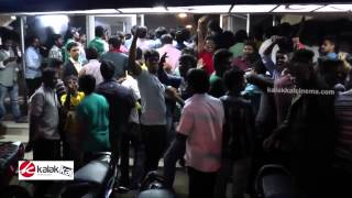 Vijay Fans Celebrate Kaththi Release at Kasi Theatre