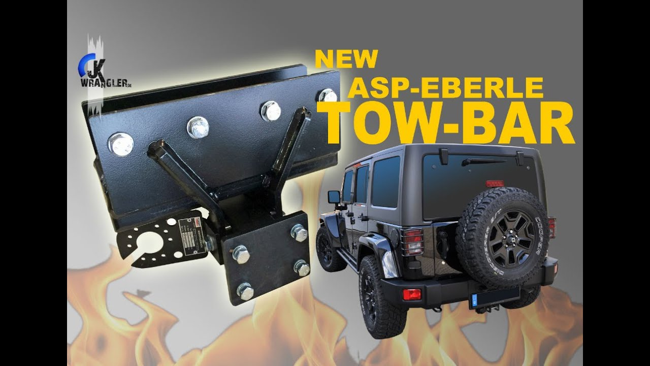 Jeep Wrangler JK | New Tow Bar From ASP Eberle (Anhängerkupplung)