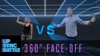 LSB 360 Face-Off: Nicole Richie vs. John Michael Higgins | Lip Sync Battle