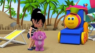 Боб Поезд плюшевый мишка оборачиваться русские дети песня Bob Train Song Teddy Bear Turn Around