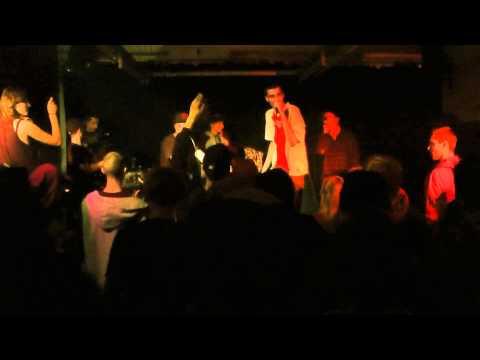 Baz - Hoe lang nog licht ft. Tiewai en Ricca @ Stadsleven release party