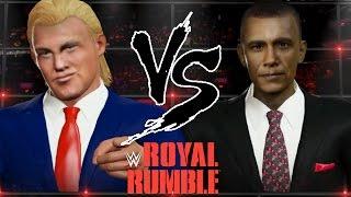 Trump VS Obama (W2k16)