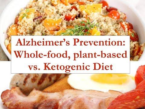 Whole-food plant-based vs. Ketogenic diet