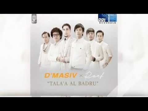 D'Masiv ft Raef - Tala'al badru ' alayna  Lirik ( cover fyo )
