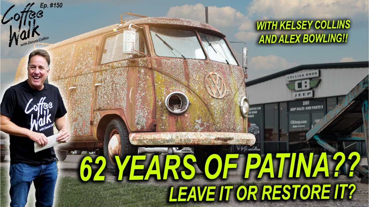 62 years of patina... LEAVE IT OR RESTORE IT?!