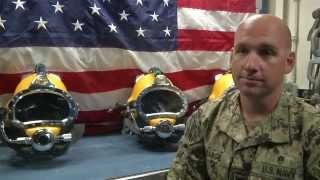 Interview With Navy Diver Aboard USNS Grasp 2