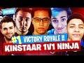 *TOP 1* KINSTAAR KILLS NINJA GOTAGA & SKYYART !! - FORTNITE E3 PRO-AM TOURNAMENT - WARM UP #2